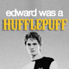 Edward Was a HufflePuff!