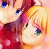 Rin & Saber