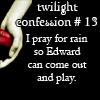 twilght confession