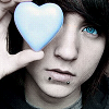 Blue eyes, blue heart