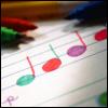 rainbow notes avatar