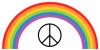 rainbow&&peacesign