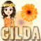 Gilda ... orange girl avatar